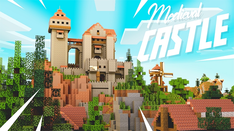 Medieval Castle on the Minecraft Marketplace by Mine-North