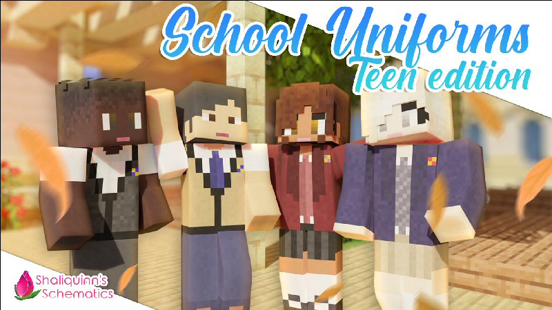 School Uniforms Teen Edition on the Minecraft Marketplace by Shaliquinn's Schematics