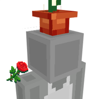 Flower Pot Hat on the Minecraft Marketplace by Gamemode One