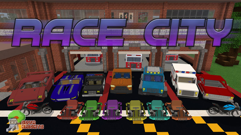 Race City on the Minecraft Marketplace by Sova Knights