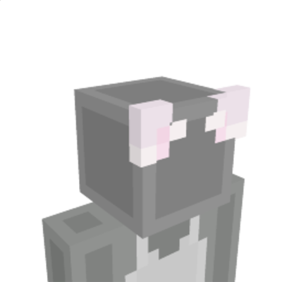 White Cat Ears on the Minecraft Marketplace by NovaEGG