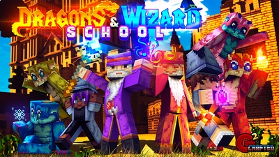 Dragon  Wizard School on the Minecraft Marketplace by G2Crafted