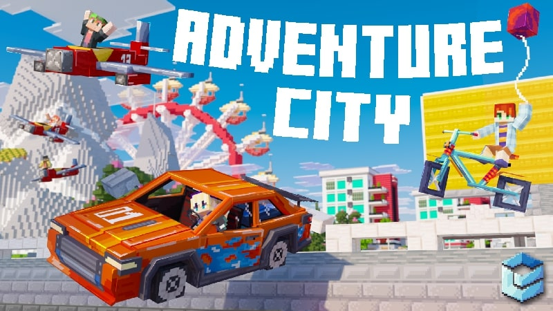 Adventure City on the Minecraft Marketplace by Entity Builds