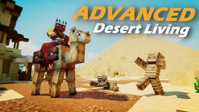 Advanced Desert Living  on the Minecraft Marketplace by Fall Studios