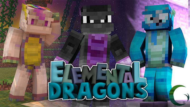 Elemental Dragons on the Minecraft Marketplace by Cynosia