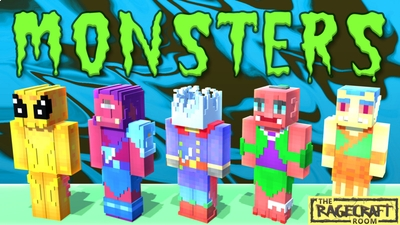 Monsters on the Minecraft Marketplace by The Rage Craft Room