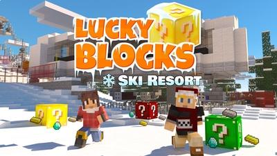 Lucky Blocks  Ski Resort on the Minecraft Marketplace by Norvale