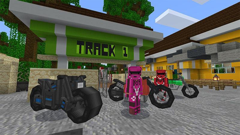 DIRTBIKES on the Minecraft Marketplace by Octovon