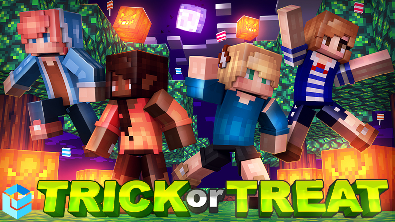 Trick or Treat on the Minecraft Marketplace by Entity Builds