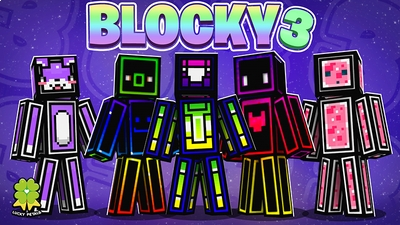 Blocky 3 on the Minecraft Marketplace by The Lucky Petals