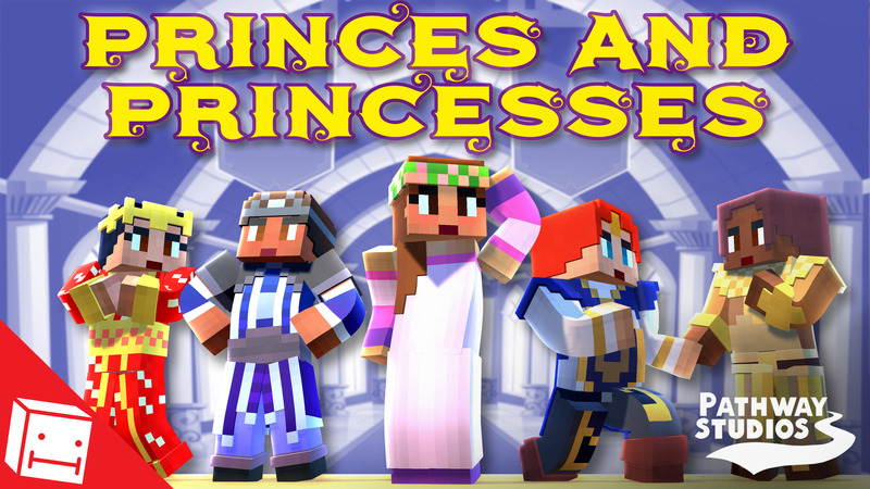 Princes and Princesses on the Minecraft Marketplace by Pathway Studios