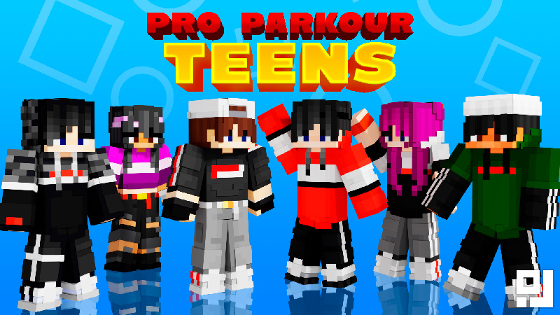 Pro Parkour Teens on the Minecraft Marketplace by inPixel