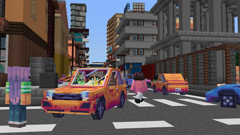 Anime City Life on the Minecraft Marketplace by BBB Studios