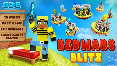 Bed Wars Blitz on the Minecraft Marketplace by GoE-Craft