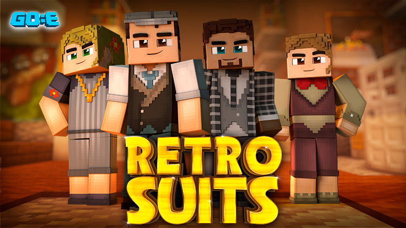 Retro Suits on the Minecraft Marketplace by GoE-Craft
