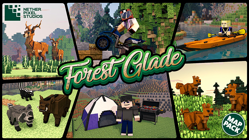 Forest Glade on the Minecraft Marketplace by Netherpixel