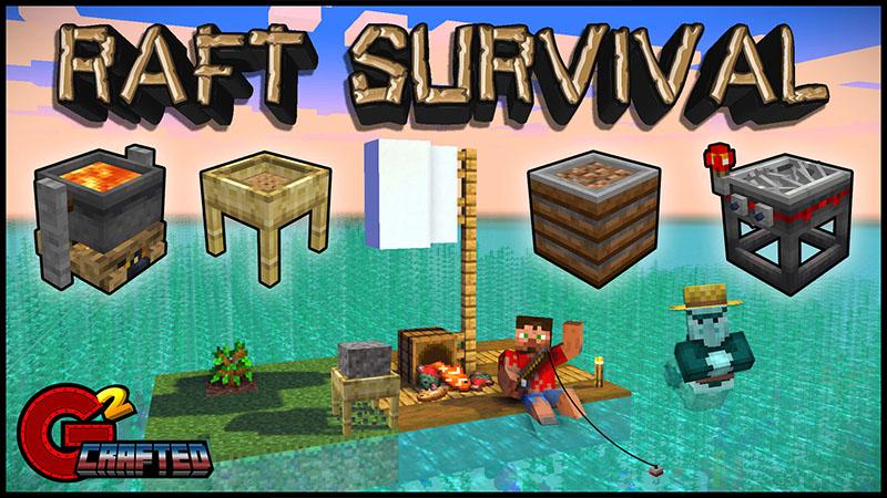 Raft Survival In Minecraft Marketplace Minecraft