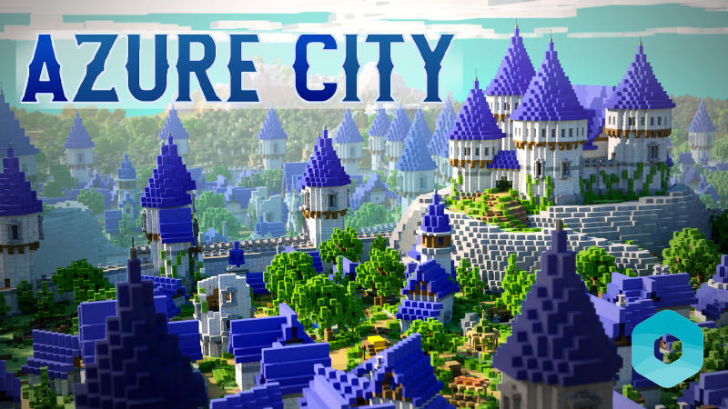 Azure City on the Minecraft Marketplace by BLOCKLAB Studios