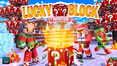 Lucky Block Winter on the Minecraft Marketplace by Kubo Studios