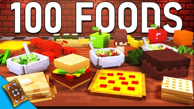 100 Foods on the Minecraft Marketplace by Team Visionary