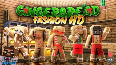 Gingerbread Fashion HD on the Minecraft Marketplace by Tomhmagic Creations