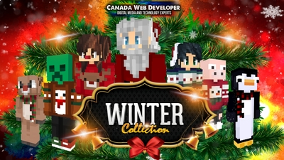 Winter Skins Collection on the Minecraft Marketplace by Canada Web Developer