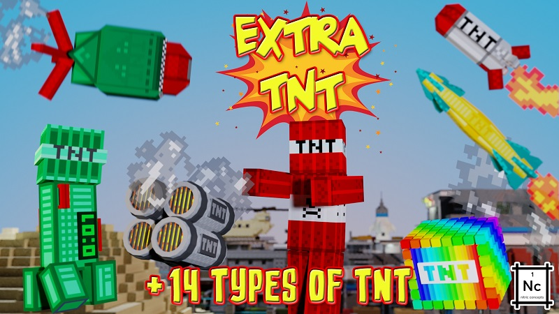 Extra TNT on the Minecraft Marketplace by Nitric Concepts