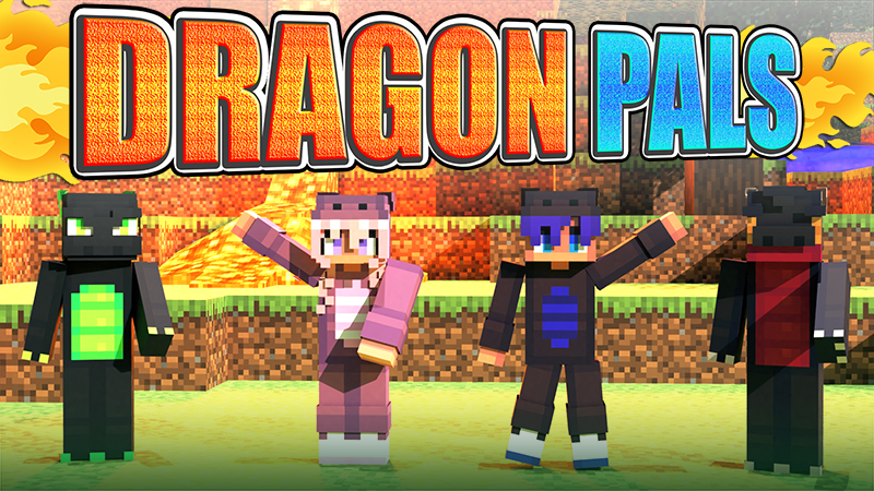 Dragon Pals on the Minecraft Marketplace by The Lucky Petals
