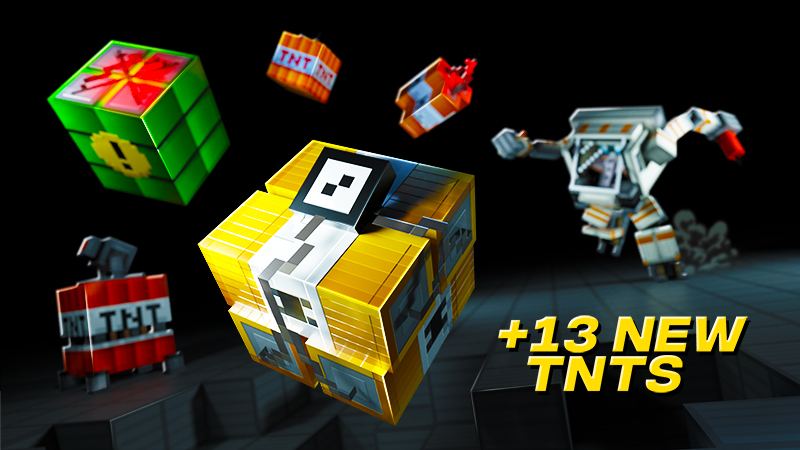 TNT on the Minecraft Marketplace by Spark Squared