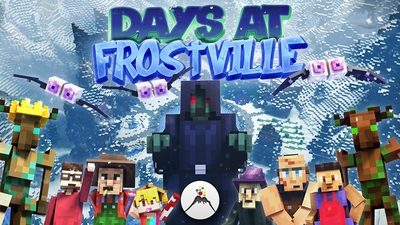 Days at Frostville on the Minecraft Marketplace by Volcano