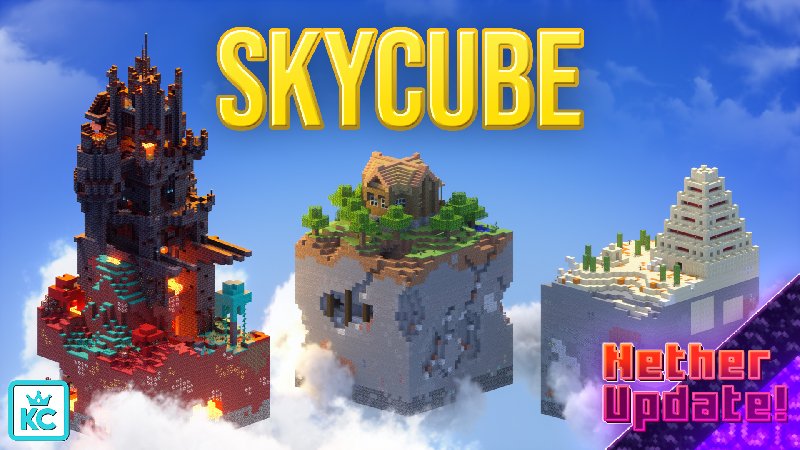 Skycube on the Minecraft Marketplace by King Cube