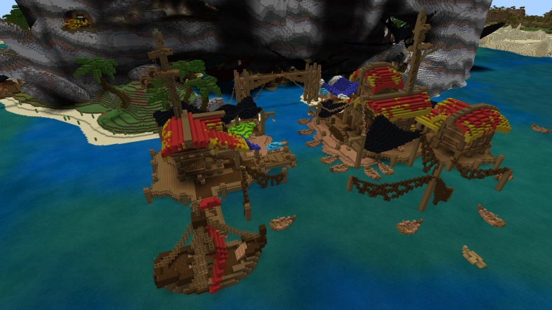 Pirate Bay on the Minecraft Marketplace by In Mine