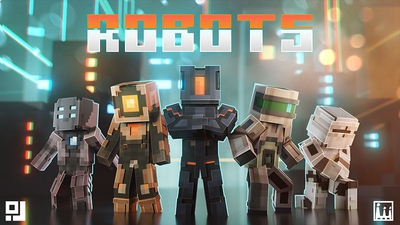 Robots on the Minecraft Marketplace by inPixel