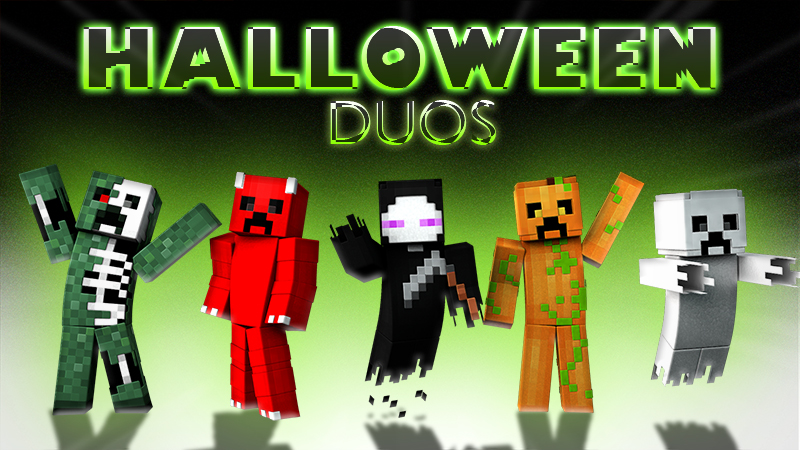 Halloween Duos on the Minecraft Marketplace by The Lucky Petals