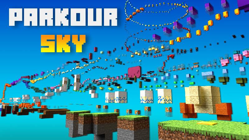 Parkour Sky on the Minecraft Marketplace by 4KS Studios