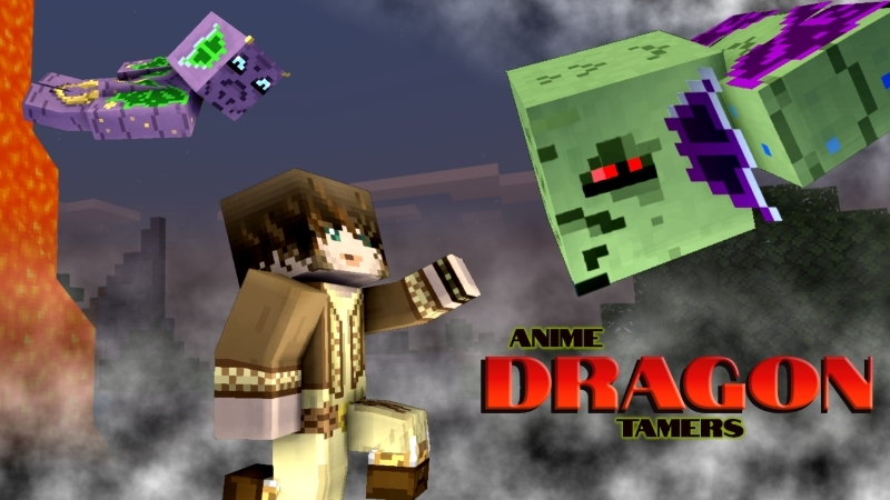 Anime Dragon Tamers on the Minecraft Marketplace by Arrow Art Games