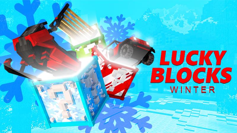 Lucky Blocks Winter on the Minecraft Marketplace by 4KS Studios