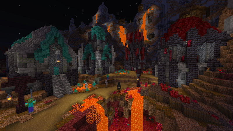 Dark Temple on the Minecraft Marketplace by The Craft Stars