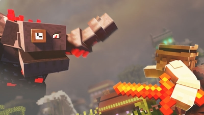 The Curse of Titan Peaks on the Minecraft Marketplace by BLOCKLAB Studios