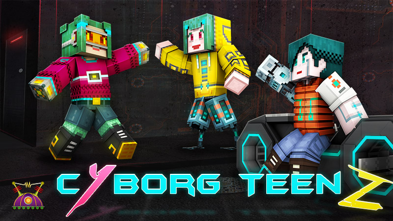 Cyborg Teenz on the Minecraft Marketplace by Cleverlike
