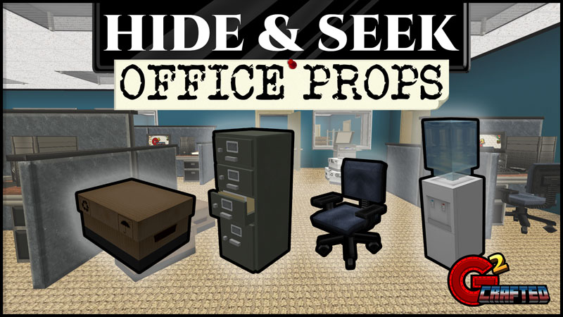 Hide  Seek Office Props on the Minecraft Marketplace by G2Crafted