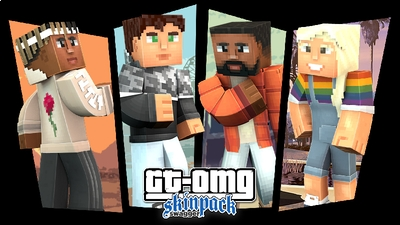 GTOMG Swagger HD Skins on the Minecraft Marketplace by Syclone Studios