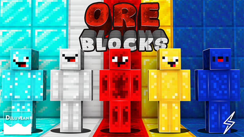 Ore Blocks on the Minecraft Marketplace by Diluvian