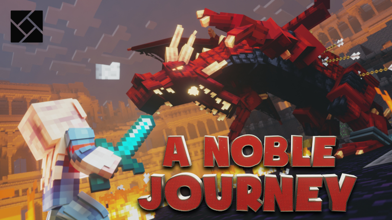 Dragon Slayer A Noble Journey on the Minecraft Marketplace by Cynosia