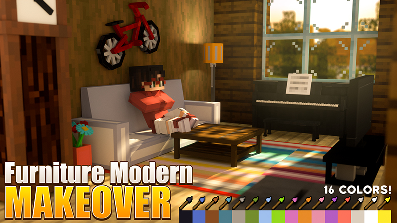 Furniture Modern Makeover on the Minecraft Marketplace by Waypoint Studios
