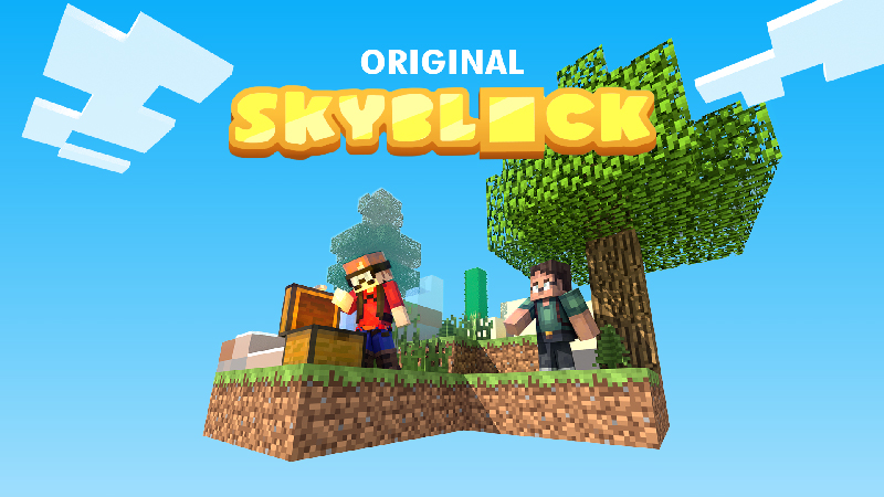 Original Skyblock on the Minecraft Marketplace by Sapphire Studios