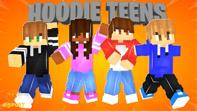 Hoodie Teens on the Minecraft Marketplace by DigiPort