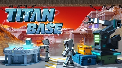 Titan Base on the Minecraft Marketplace by BBB Studios