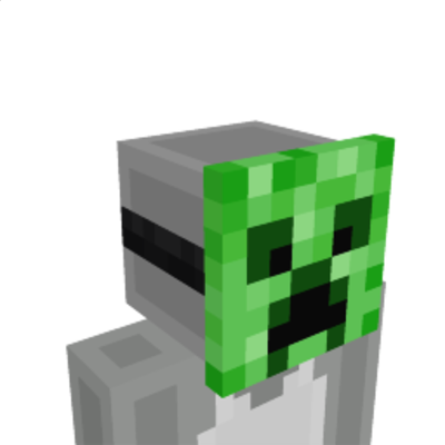 Creeper Mask on the Minecraft Marketplace by Magefall