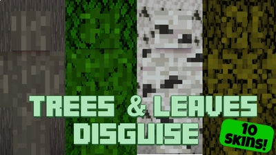 Trees  Leaves Disguise on the Minecraft Marketplace by Pixelationz Studios